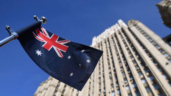 Застава Аустралије  - Sputnik Србија
