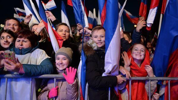 Концерт у част 5. годишњице поновног уједињења Крима са Русијом - Sputnik Србија