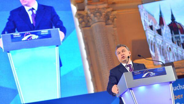 Орбан на скупу Европске народне партије - Sputnik Србија