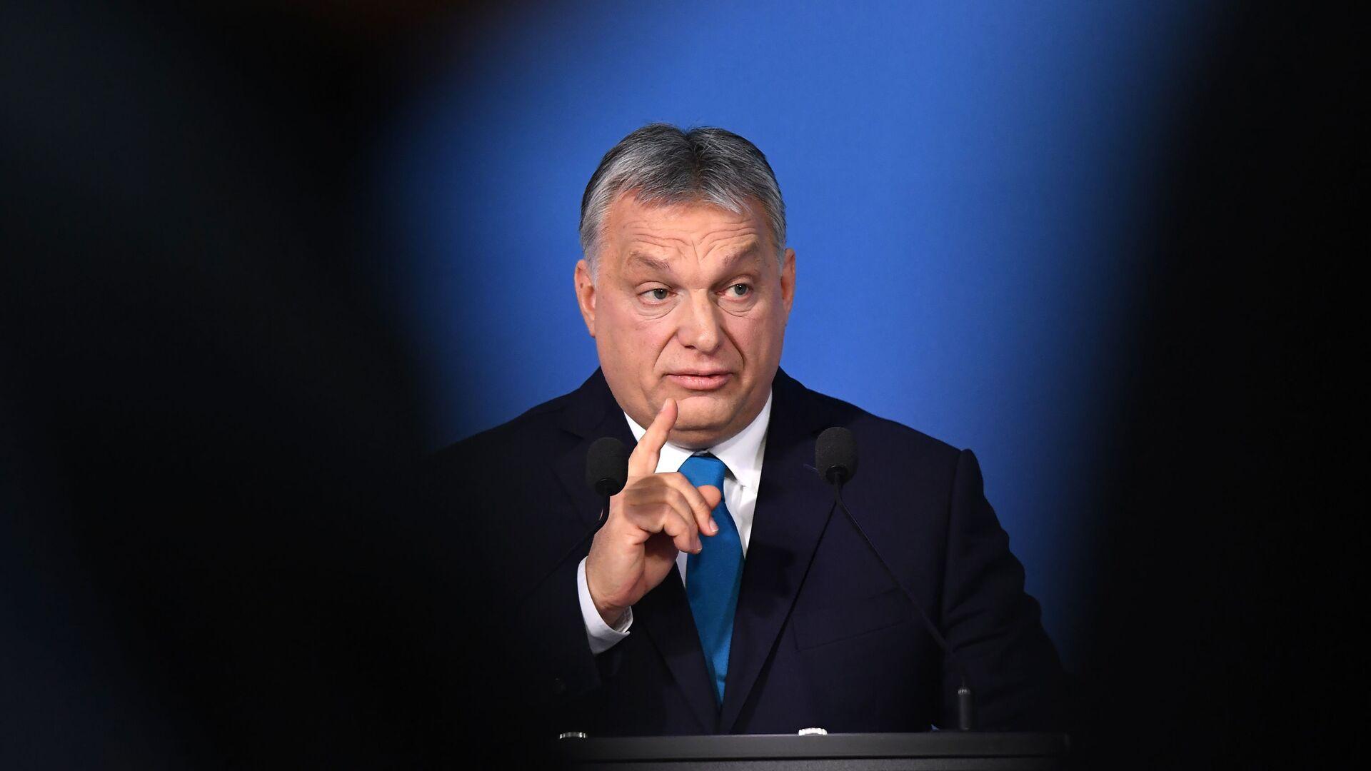 Премијер Мађарске Виктор Орбан  - Sputnik Србија, 1920, 07.07.2021