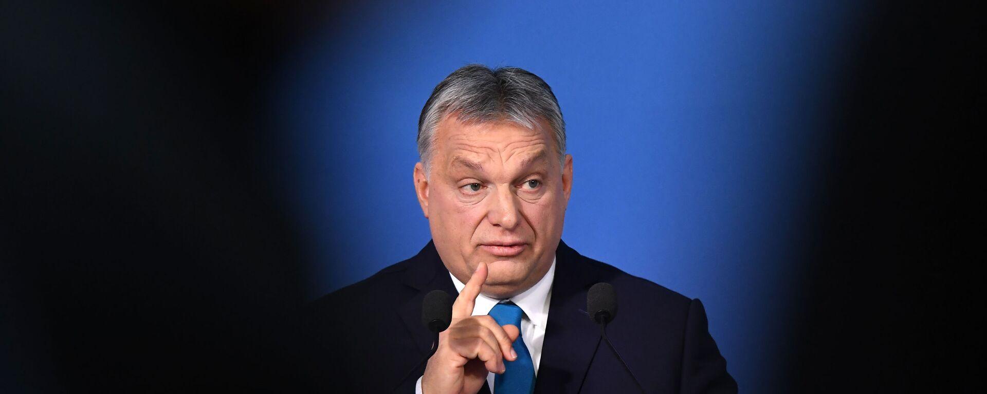 Премијер Мађарске Виктор Орбан  - Sputnik Србија, 1920, 16.07.2021