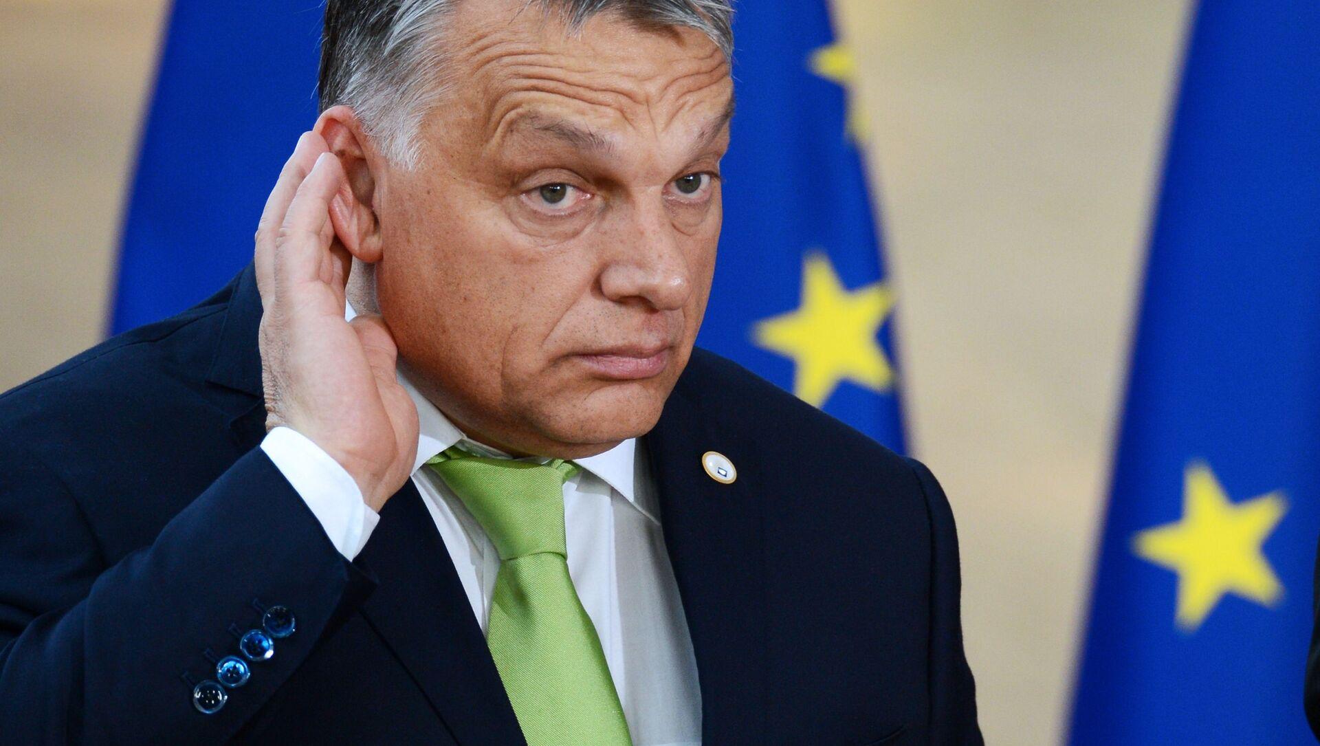 Премијер Мађарске Виктор Орбан  - Sputnik Србија, 1920, 28.06.2021