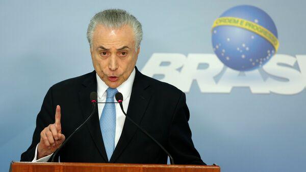 Bivši predsednik Brazila Mišel Temer - Sputnik Srbija