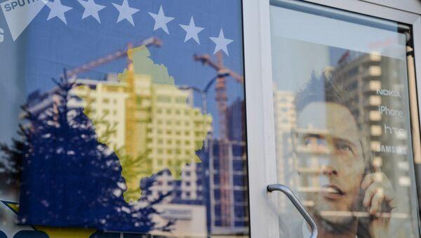 Косово застава и градилиште - Sputnik Србија