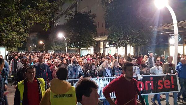 "Šesti građanski protest ""Odupri se — 97.000"" - Sputnik Srbija"