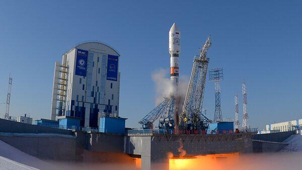 Lansiranje rakete-nosača Sojuz 2.1a sa kosmodroma Vostočni - Sputnik Srbija