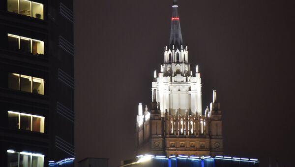 Зграда Министарства спољних послова Русије у Москви - Sputnik Србија