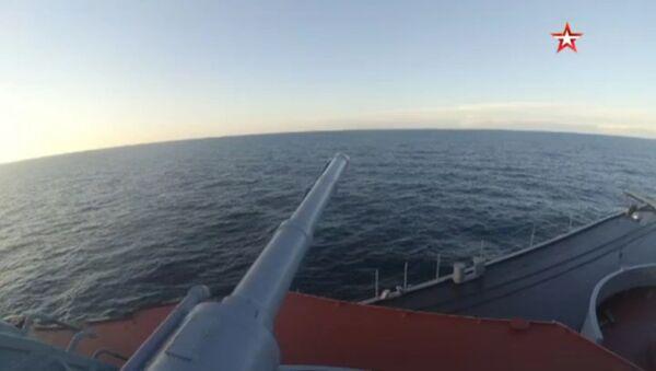 Vojna vežba Pacifičke flote Rusije - Sputnik Srbija
