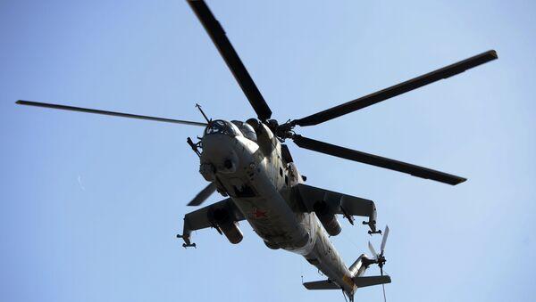 Ударни хеликоптер Ми-35М - Sputnik Србија