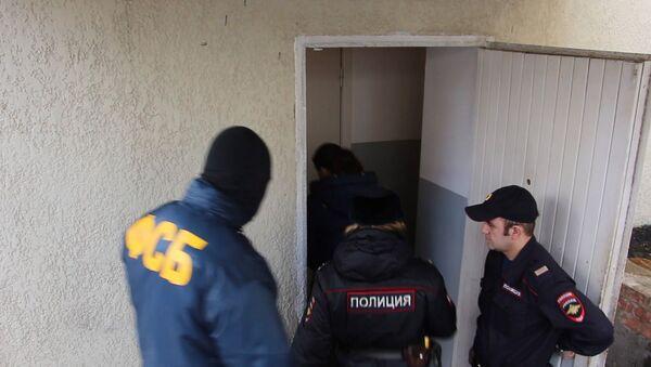 Pripadnici Federalne službe bezbednosti Rusije i policije - Sputnik Srbija