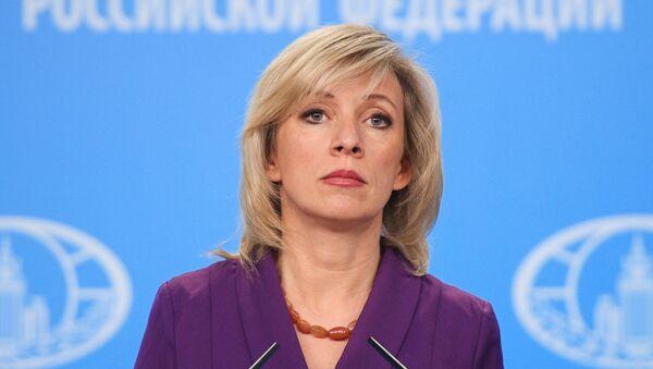 Portparolka Ministarstva inostranih poslova Rusije Marija Zaharova - Sputnik Srbija