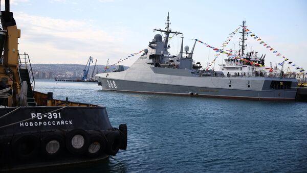 Руски брод Василиј Биков - Sputnik Србија