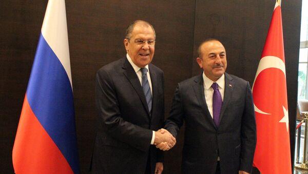 Sergej Lavrov i Mevlut Čavušoglu - Sputnik Srbija