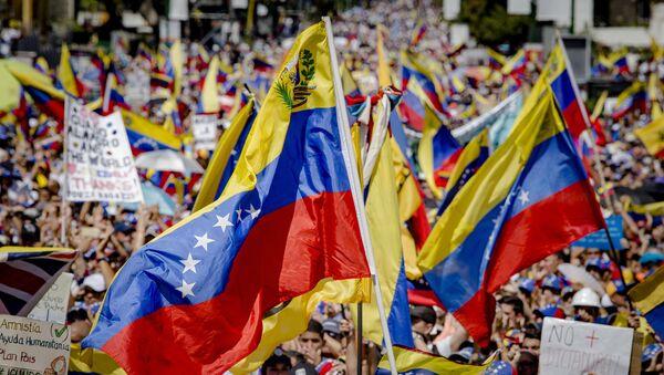 Protesti opozicije u Venecueli - Sputnik Srbija