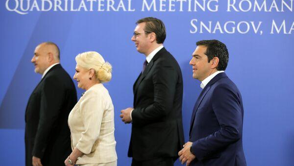 Učesnici samita u Bukureštu - Sputnik Srbija