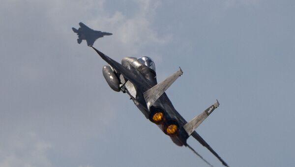 F-15 izraelski avion - Sputnik Srbija