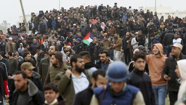 Protest u Gazi - Sputnik Srbija