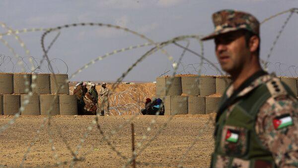 Izbeglički kamp Rukban na granici Jordana i Sirije - Sputnik Srbija