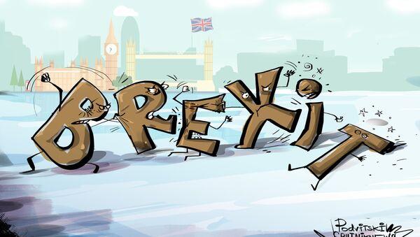 U britanskom parlamentu opet nema sloge oko Brekzita - Sputnik Srbija
