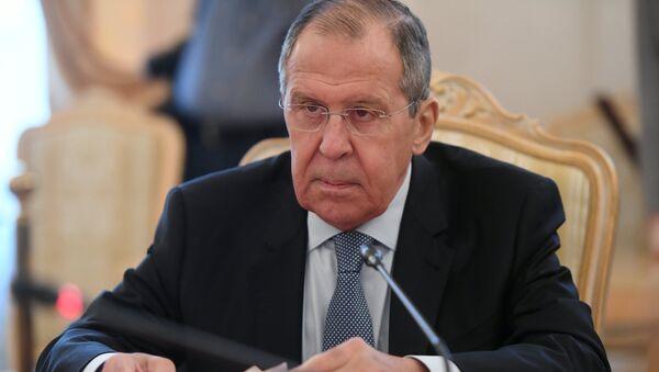 Министар спољних послова Русије Сергеј Лавров - Sputnik Србија