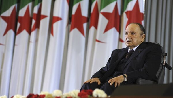 Председник Алжира Абделазиз Бутефлика - Sputnik Србија