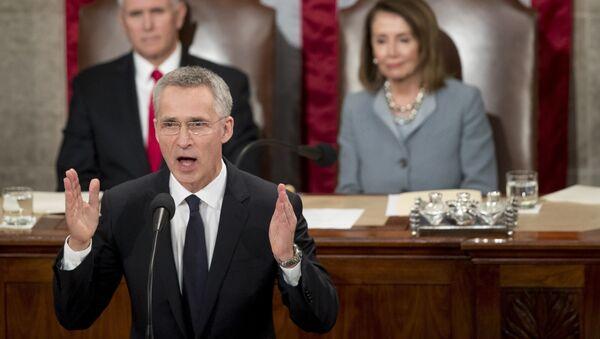 Генерални секретар НАТО-а Јенс Столтенберг обраћа се америчком Конгресу - Sputnik Србија