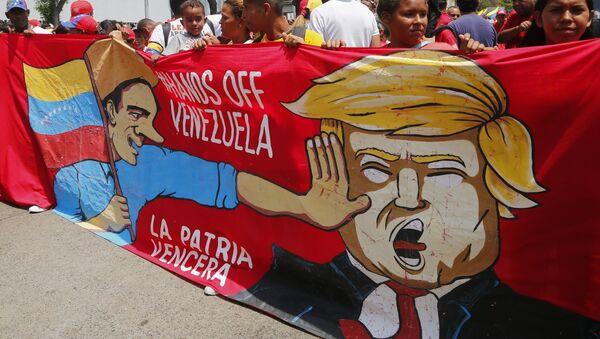 Присталице Мадура на митингу у Каракасу - Sputnik Србија