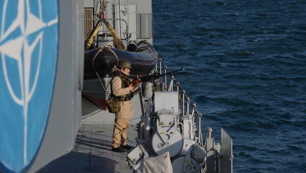 Brod NATO pakta u Crnom moru - Sputnik Srbija