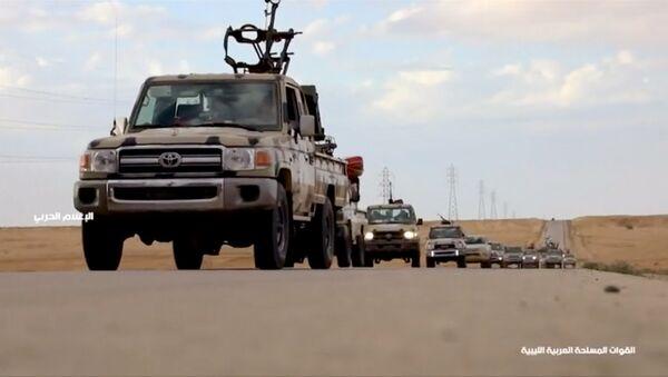Наоружана војна возила на путу у Либији - Sputnik Србија