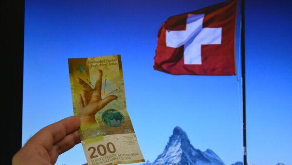 Švajcarski franak - Sputnik Srbija