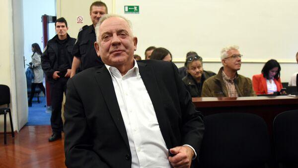 Иво Санадер у судници - Sputnik Србија
