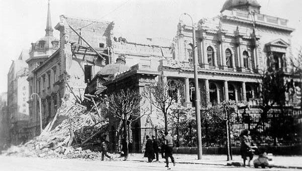 Bombardovanje Beograda 1941. godine - Sputnik Srbija