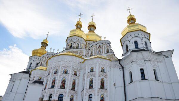 Uspenski sabor Kijevsko-pečerske lavre u Kijevu - Sputnik Srbija