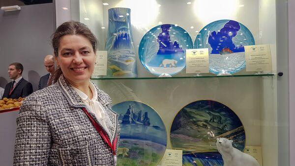Tatjana Tilevič, generalna direktorka Ipmperatorske fabrike porcelana iz Sankt Peterburga - Sputnik Srbija