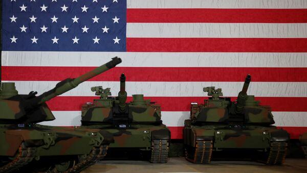 Амерички тенкови - Sputnik Србија