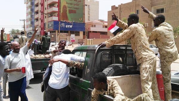Припадници војске Судана у Картуму. - Sputnik Србија