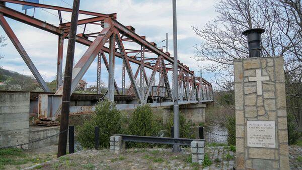 Мост у Грделици на ком је погођен мост у коме су страдали цивили - Sputnik Србија