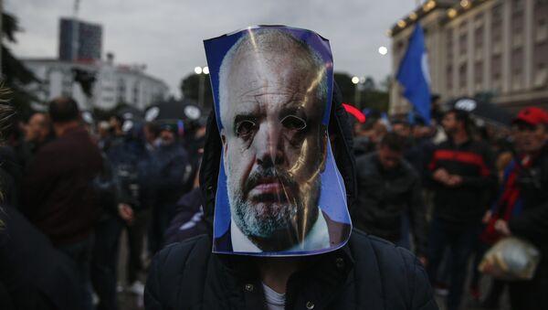 Protest u Tirani - Sputnik Srbija