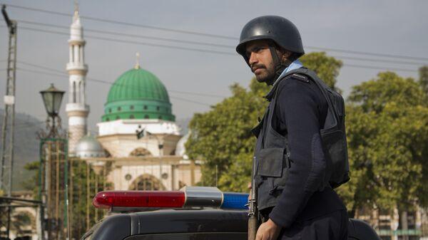 Полицајац у Пакистану - Sputnik Србија