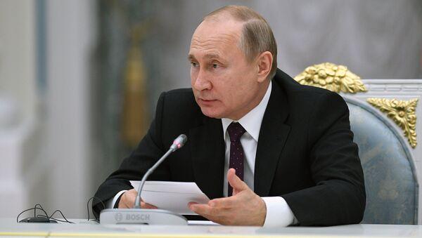 Predsednik Rusije Vladimir Putin - Sputnik Srbija