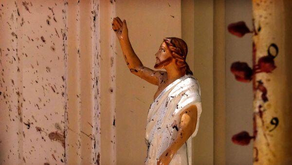 Изрешетани Исус из једне од цркава на Шри Ланки - Sputnik Србија