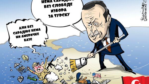 Ucena Turske - Sputnik Srbija