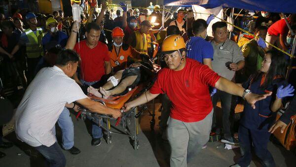 Земљотрес на Филипинима - Sputnik Србија