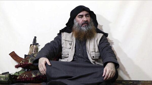 Lider terorističke grupe DAEŠ Abu Bakr el Bagdadi - Sputnik Srbija