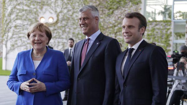 Хашим Тачи на самиту у Берлину - Sputnik Србија