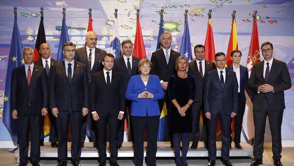 Учесници берлинског самита о Западном Балкану - Sputnik Србија