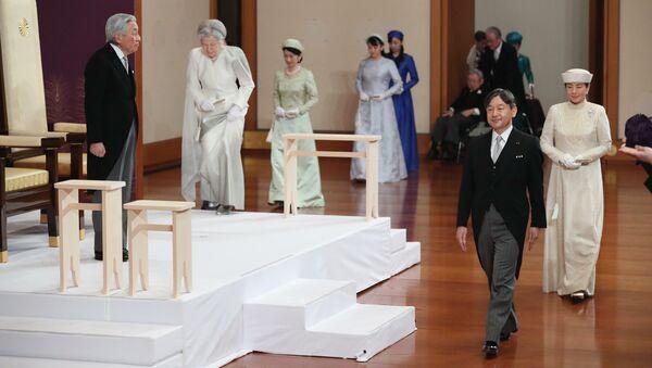 Svečani čin abdikacije cara Akihita u Japanu - Sputnik Srbija