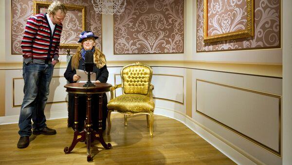 Фигура холандске краљице Вилхелмине у Музеју Мадам Тисо у Амстердаму - Sputnik Србија