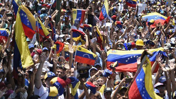 Antivladini protesti u Karakasu - Sputnik Srbija