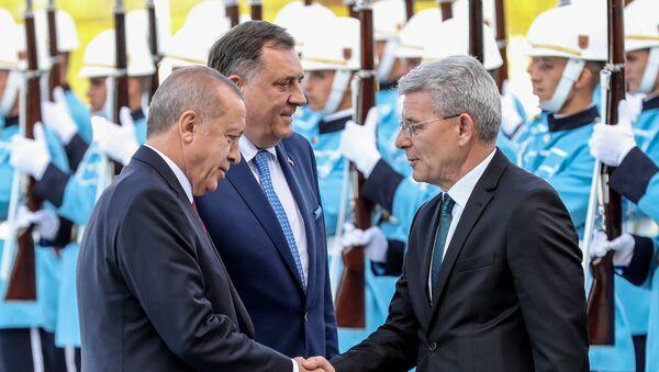 Milorad Dodik i Redžep Tajip Erdogan - Sputnik Srbija